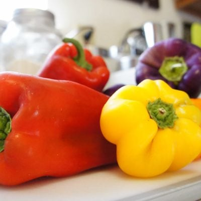 Bell Peppers + 6 Methods of Cookery