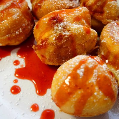 Deep Fried Cheesecake Bites