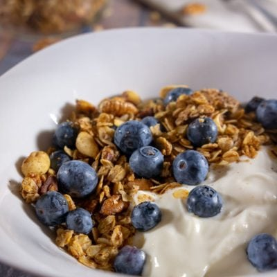 Cinnamon Nut Homemade Granola Recipe