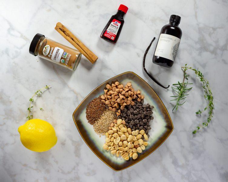 variety of shortbread add ins like cinnamon, lemon, or chocolate chips