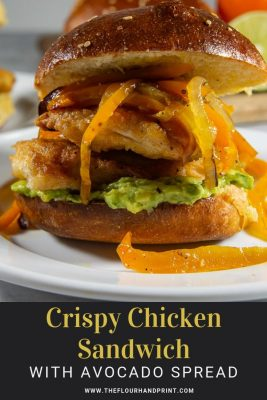 crispy chicken sandwiches