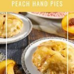 two individual pies and a plate of pies
