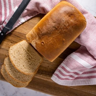 White Whole Wheat Bread Recipe