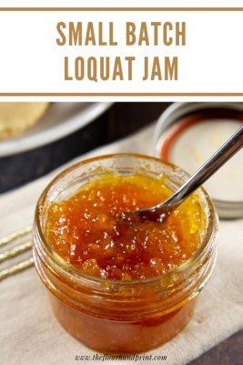 small jar of jam