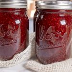 jars of strawberry jam
