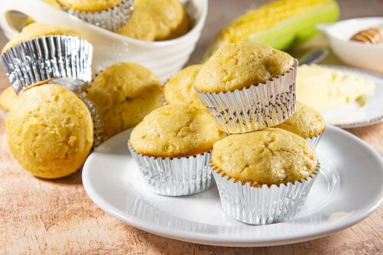 Cornbread Muffin Recipe with Corn