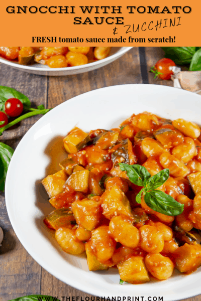 a white bowl of gnocchi pasta