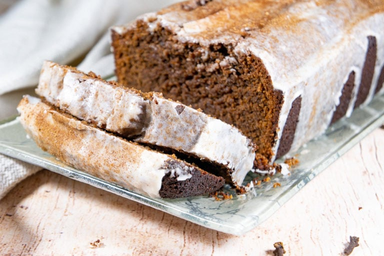 Gingerbread Loaf Recipe with Chocolate