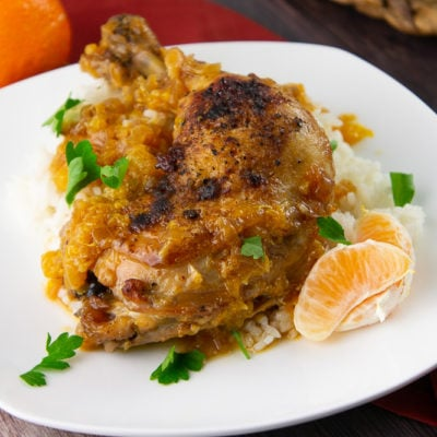 Orange and Chicken Braise