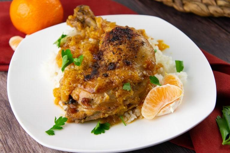 Orange and Chicken Braise