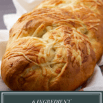 loaf of asiago bread