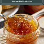 a jar of loquat jam
