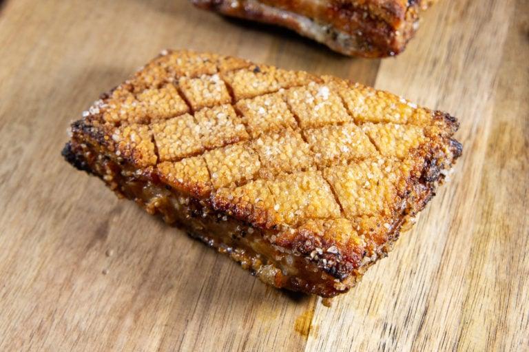 Salt Crust Pork Belly