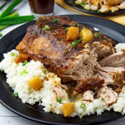 Crock pot Pineapple Pork Loin