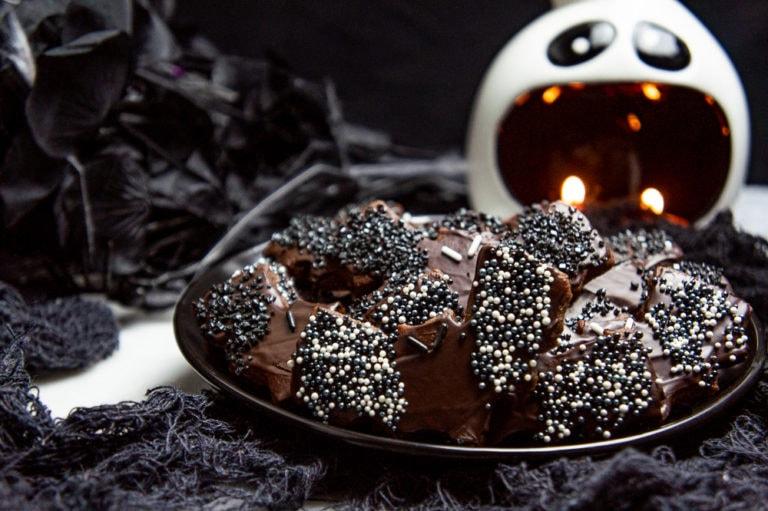 Bat Cookies (Chocolate Sugar Cookies)