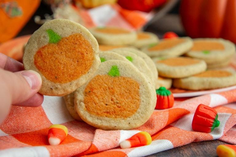 Slice & Bake Pumpkin Cookies
