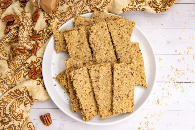 Homemade Granola Nut Bars