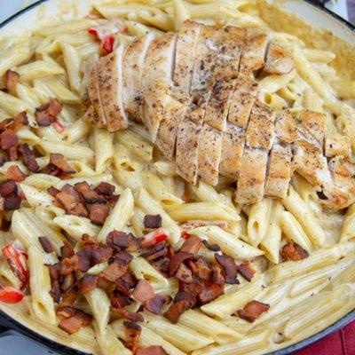 Creamy Chicken Bacon Pasta