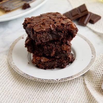 Olive OIl Brownies (Dairy Free)